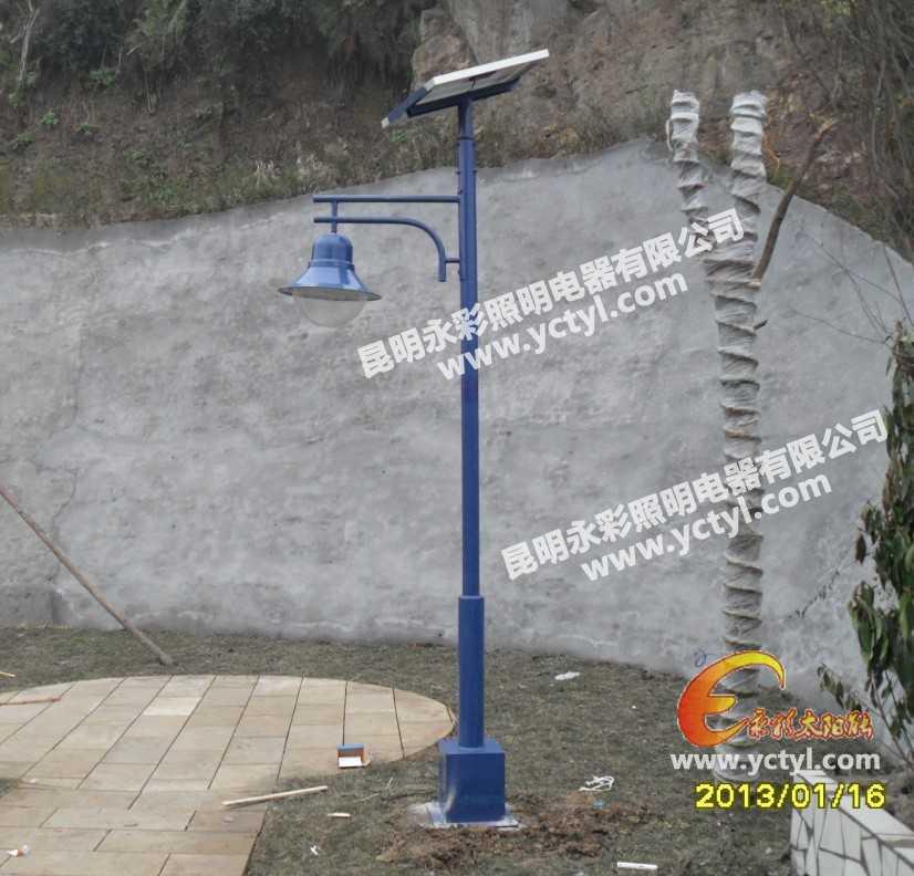 四川荣县雷竞技竞猜庭院灯工程